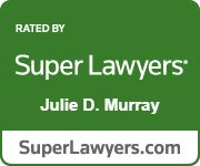 "Julie D. Murray selected as a 2020 Maryland ""Super Lawyer"" by Baltimore Magazine and Maryland Super Lawyers Magazine"
