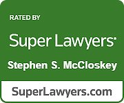 """Stephen McCloskey selected ass Maryland """"Super Lawyer"""""""