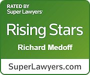 """Richard Medoff selected as a 2020 Maryland """"Rising Star"""" by Baltimore Magazine and Maryland Super Lawyers Magazine"""
