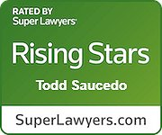 "Todd Saucedo selected as a Maryland ""Rising Star"" by Baltimore Magazine and Maryland Super Lawyers Magazine, 2020"